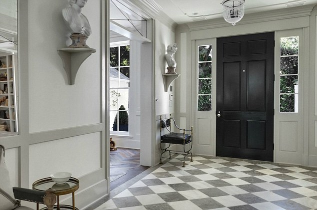 Modern country style gwyneth paltrow 39 s modern country new house for Modern interior doors los angeles