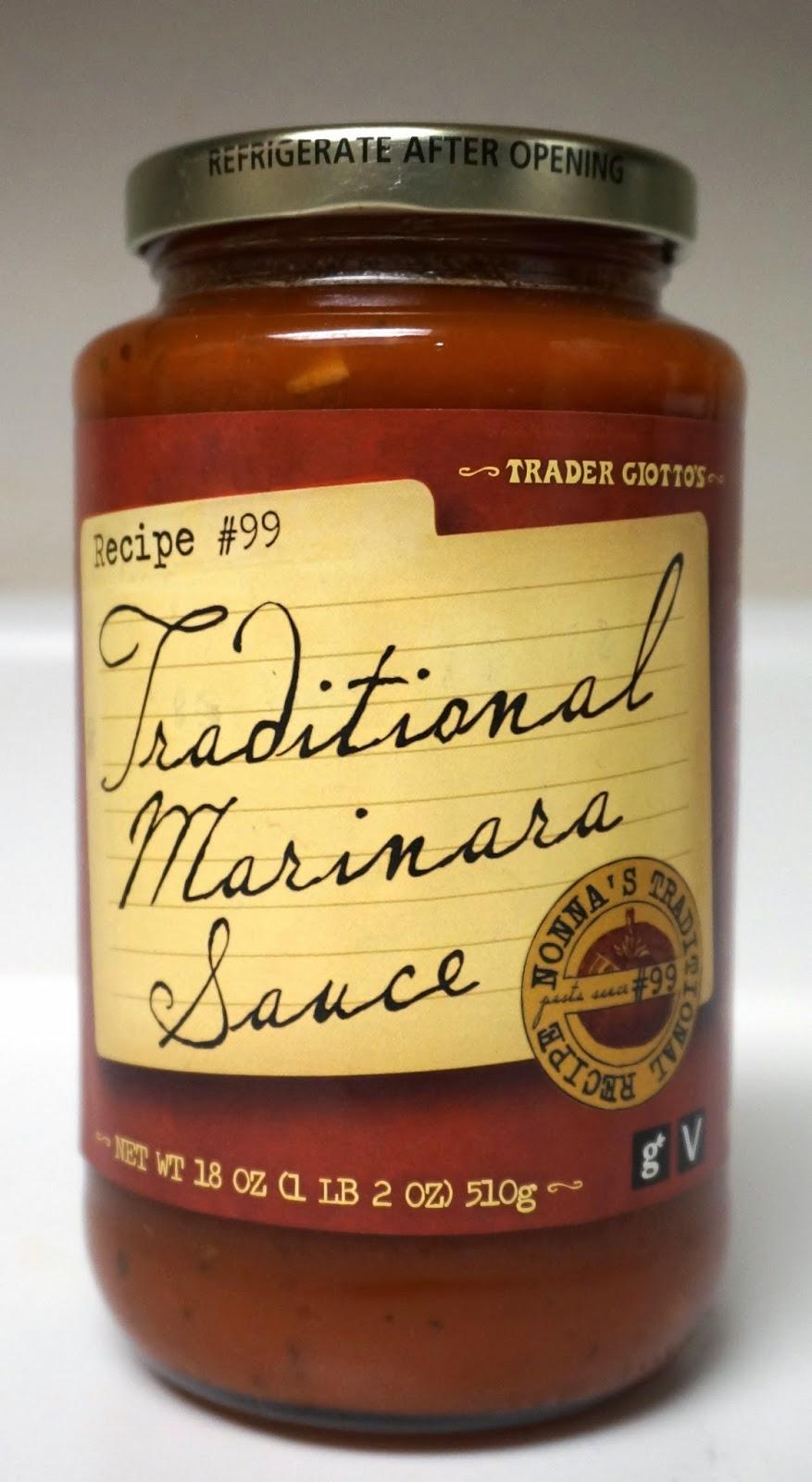 Exploring trader joe 39 s trader joe 39 s traditional marinara for Trader joe s fish sauce