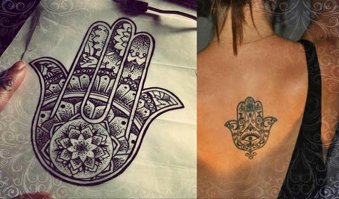 Татуировки для мужчин от сглаза