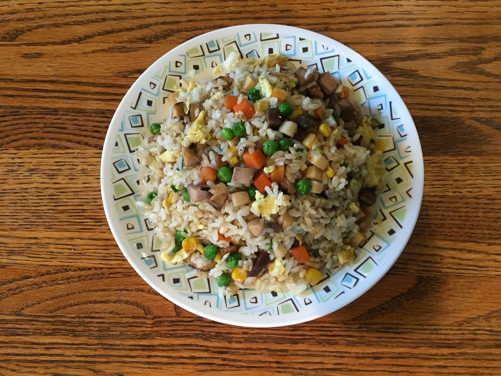 papas favorite recipes cantonese yang zhou fried rice and this is the best way i use up the leftover rice that was left dried and got old in the fridge for several days ccuart Image collections