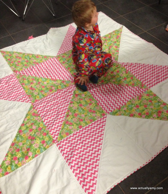 Actually Amy: Giant Star Quilt : giant star quilt - Adamdwight.com