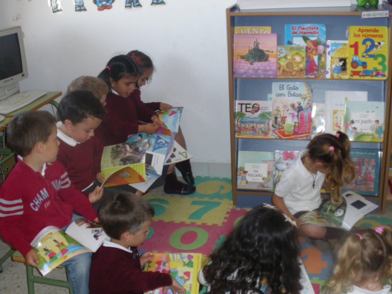 La lectura en educaci n infantil nuestro rinc n para la for El rincon de la lectura
