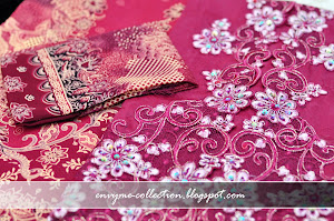 Kebaya embroidery semi-silk