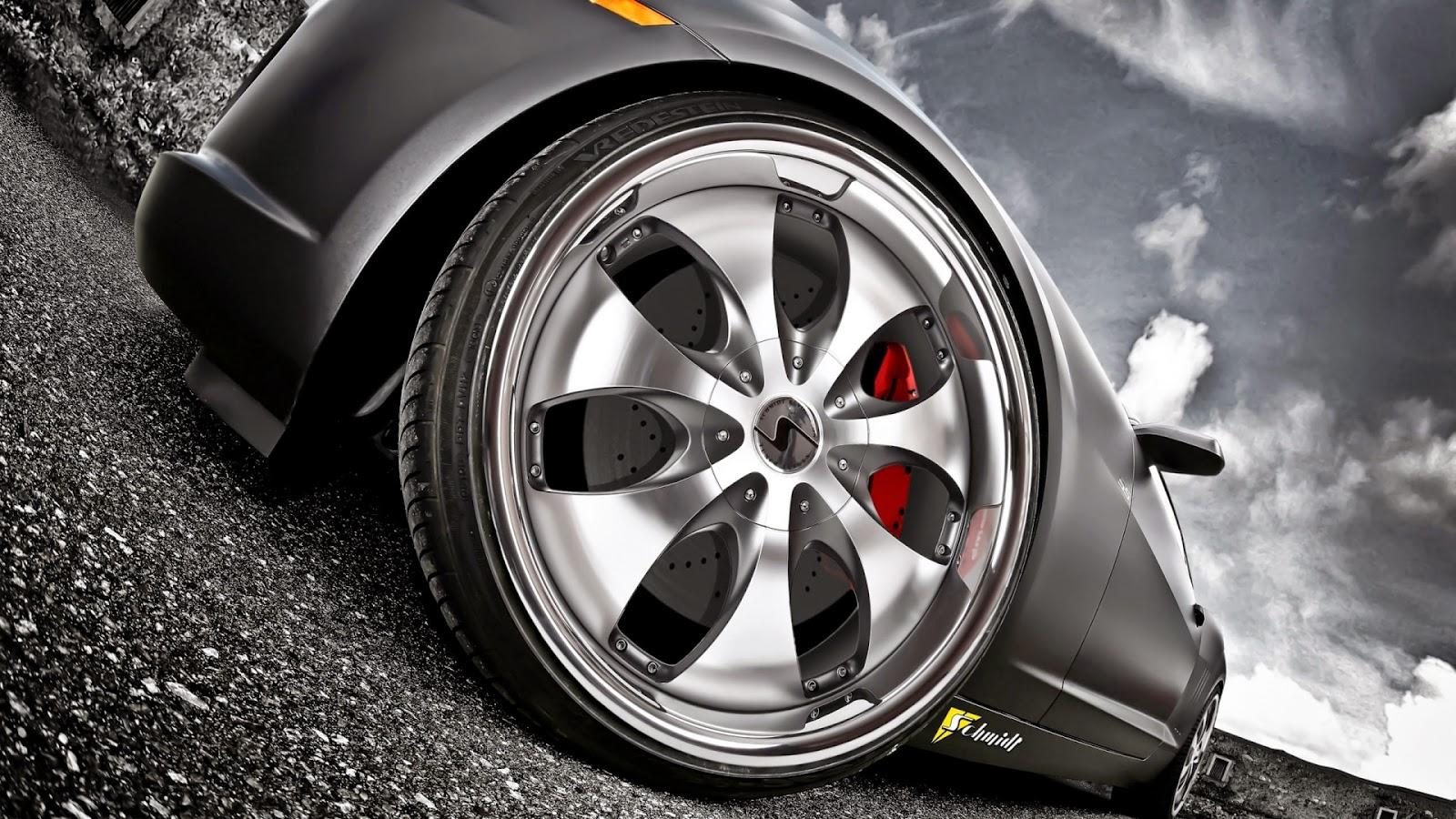 Car Wheel Silver Best HD Wallaper