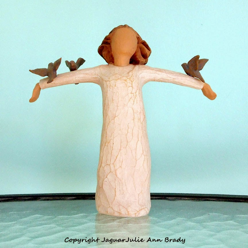 copyright jaguarjulie willow tree angel with bluebirds