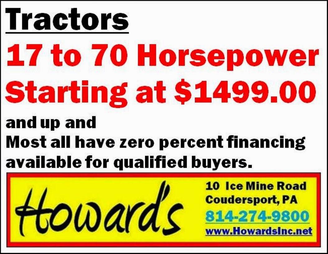 Howard's tractors
