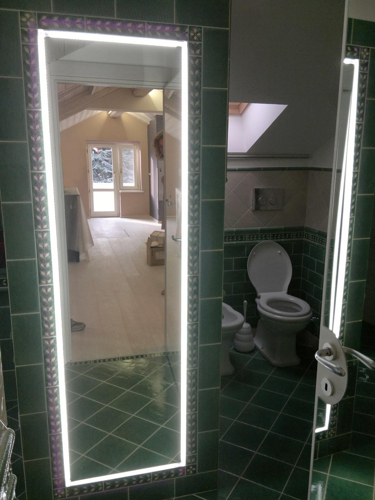 Lampada design bagno specchio - Specchi in casa ...