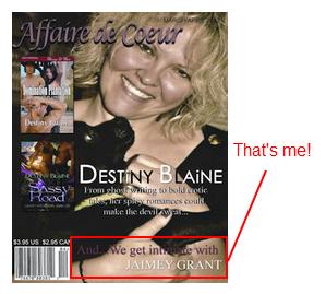 March/April 2012 issue of Affaire de Coeur Magazine