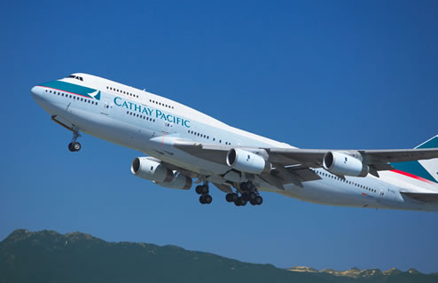 photograph cathay pacific 777