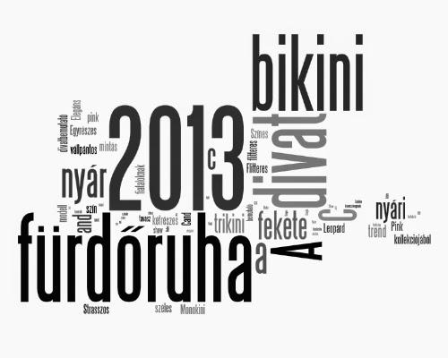 Fürdőruha 2013 nyár - C&A fürdőruha bemutató - fürdőruha divat 2013 nyár