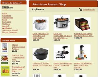 AAmnivore Amazon Shop