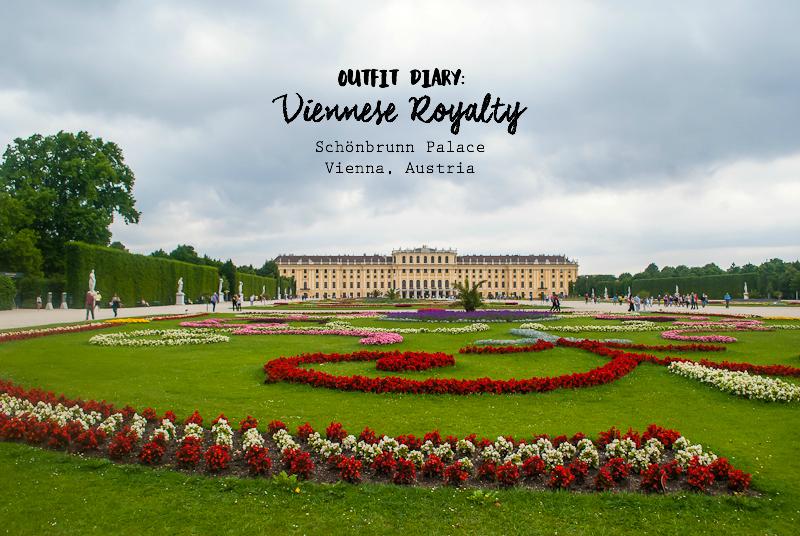 Visiting the Schönbrunn Palace in Vienna, Austria