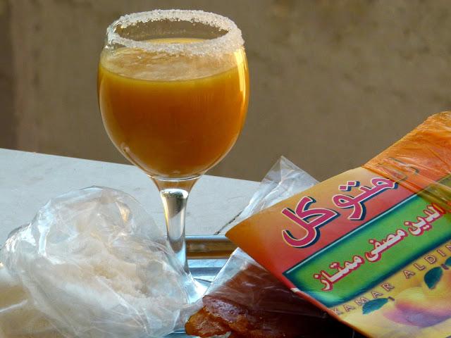 Ägyptischer Aprikosensaft - Kamar El Din - Ramadan Rezepte