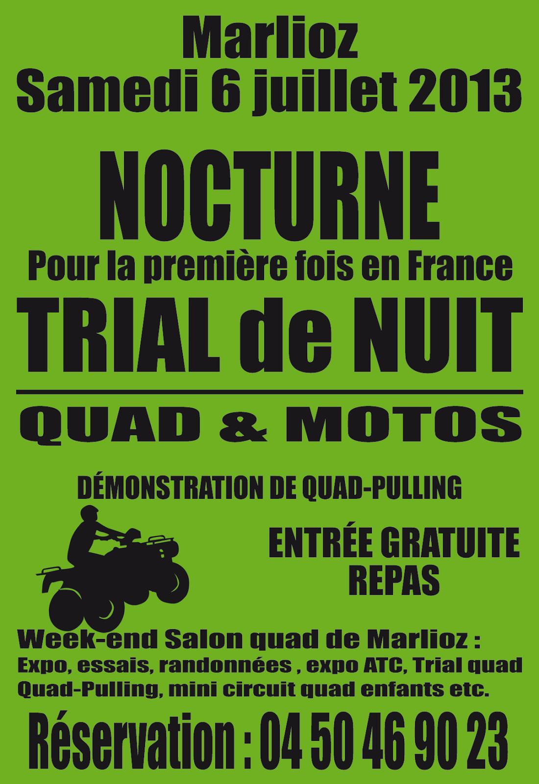 Trial quad de nuit