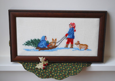 Tasha Tudor cross stitch