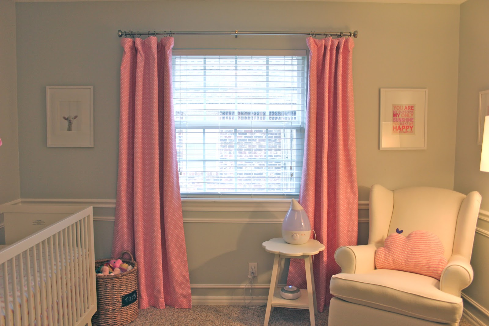 Pink Polka Dot Curtains In Pink (lined With Blackout Panels)   Pottery Barn  Kids