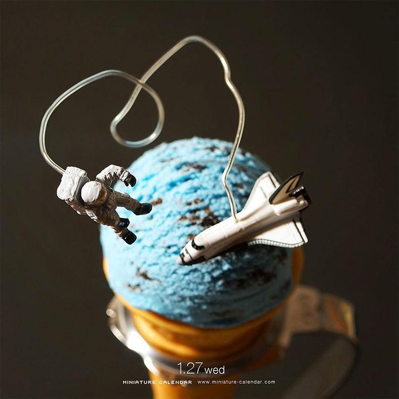Nuevos divertidos dioramas en miniatura del artista Tatsuya Tanaka