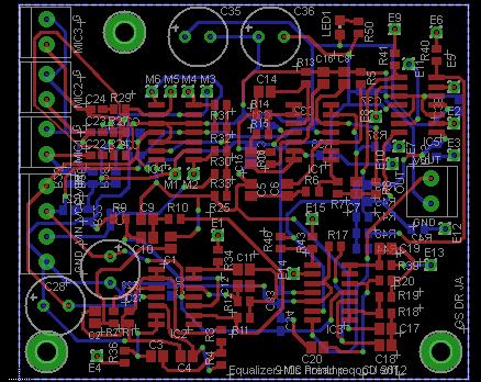 equalizer PCB