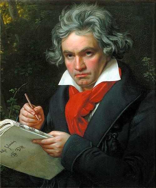 Beethoven by Joseph Karl Stieler, 1820