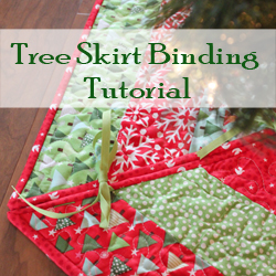 Tree Skirt Binding Tutorial