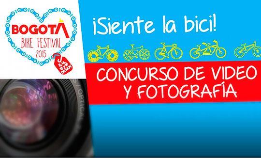 Concurso de Video y Fotografía. Bogotá Bike Festival