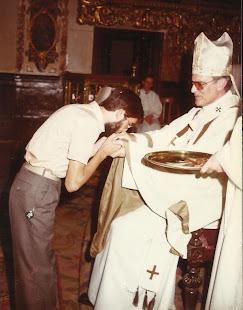 Acto de entrega de cruces