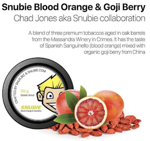 Snubie: Blood Orange & Goji Berry Lös