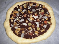 Pizza de chocolate en Nueva York