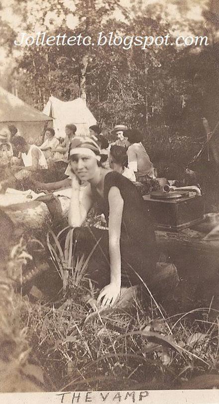 Helen Killeen Parker about 1919   http://jollettetc.blogspot.com