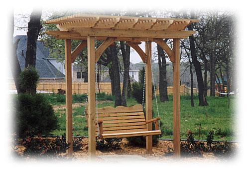Pergola Arbor Swing Design Plans