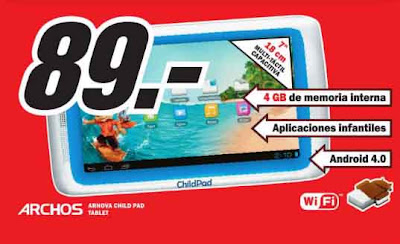 Media Markt catálogo de tablets
