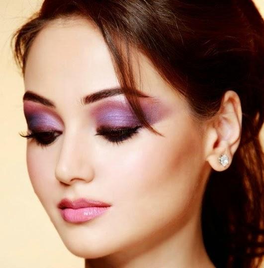 metallischen Augen Make-up 2015