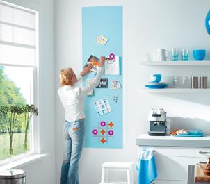 Come decorare le pareti della cucina e non solo - Vernice per cucina ...