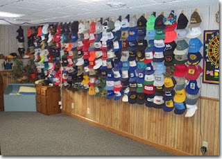 Perfect Baseball Cap Storage