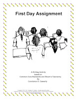 First Day Writing Assignment-Revised