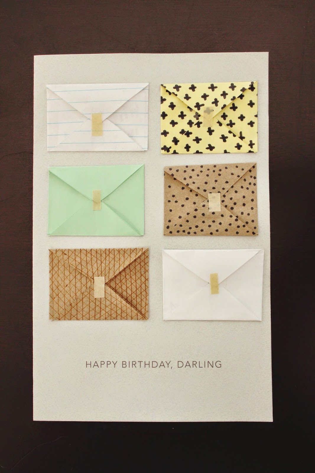 oh whimsical me Little Notes Birthday Card – Birthday Cards Notes