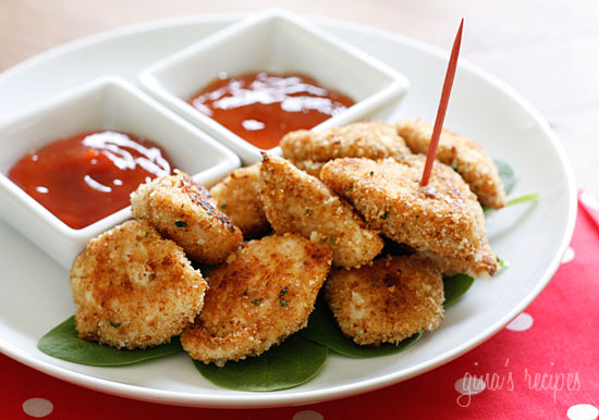 Good Foods: Healthy Baked Chicken Nuggets