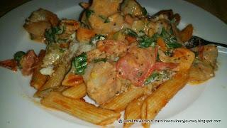 Seafood Pasta - Pasta con Mariscos