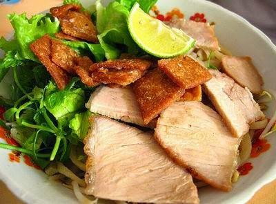 Cao Lau Noodles, Hoi An3