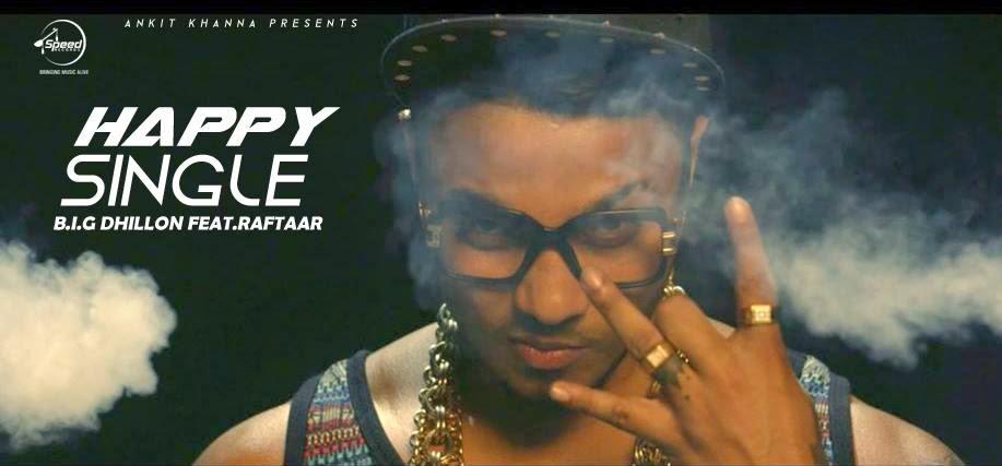Happy Single Lyrics - BIG Dhillon