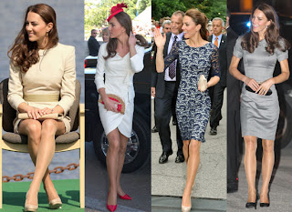 Kate Middleton Stocking Nude Hosiery