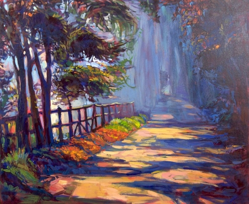 01-Ivailo Nikolovhas-Bright-Paintings-Modern-Impressionism-www-designstack-co