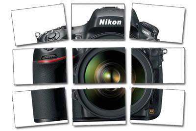 Regle des tiers - appareil photo