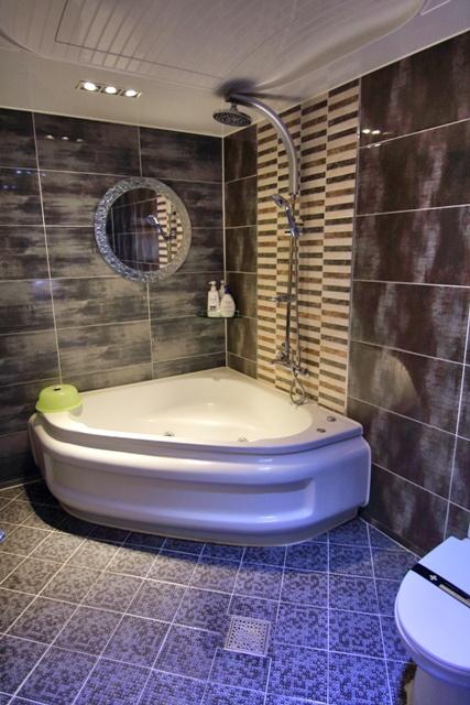 Cuarto de baño del Love Hotel