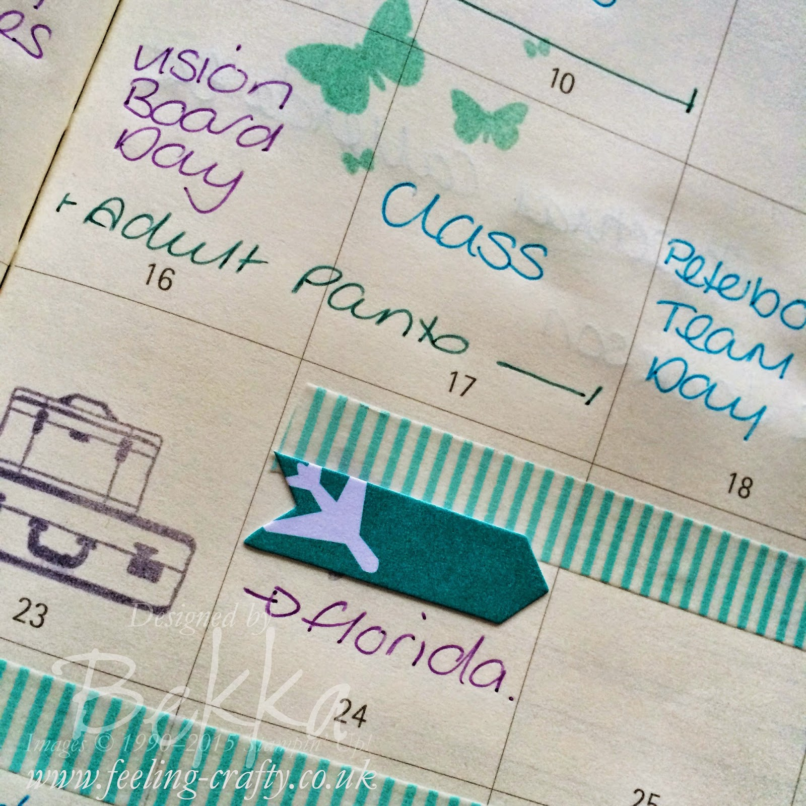 Cutomise your Diary / Planner using Project Life Supplies by Stampin' Up! Get them here