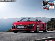 Audi R8 (audi spyder wallpaper)
