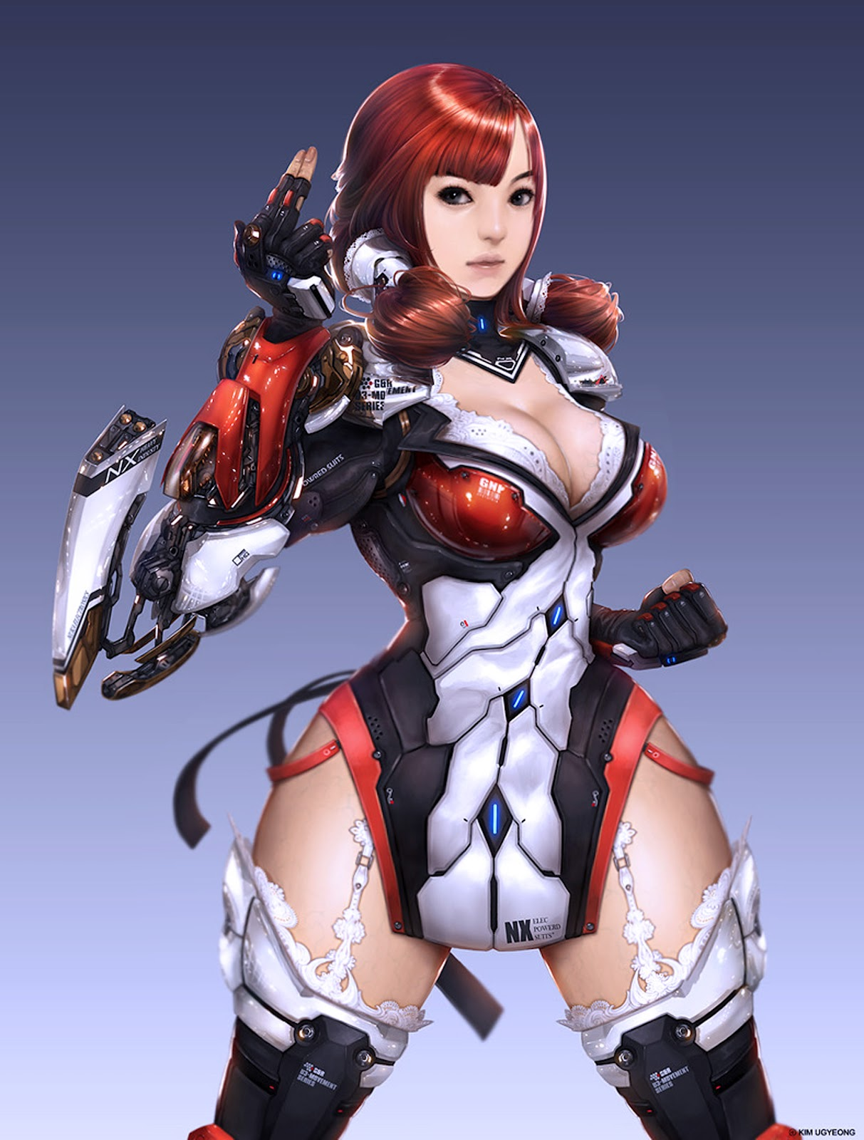 sexy anime space suit - photo #11