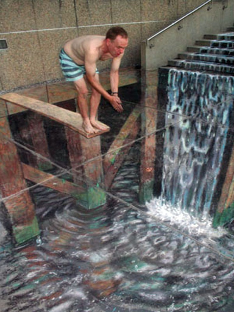 Amazing 3D Optical Illusions