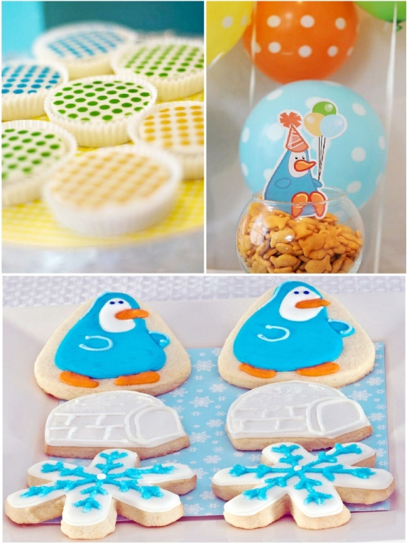 A Penguin Frozen Igloo Birthday Party