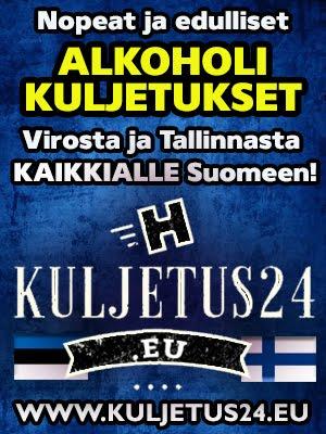 Kaikki kuljetukset Suomeen!